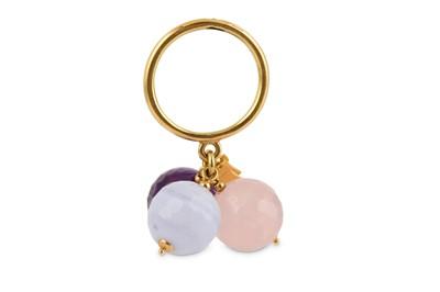 Lot 4-A gem-set dress ring