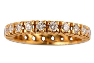 Lot 17-A diamond eternity ring