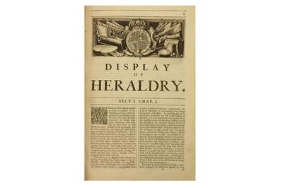 Lot 79-Heraldry.- Guillim (John)