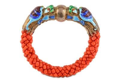 Lot 14-A coral bangle