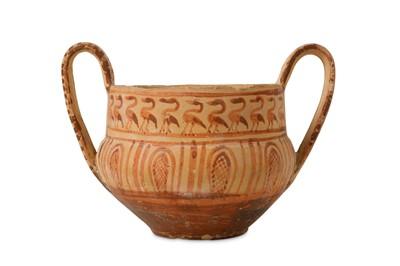 Lot 36-A 7TH / 8TH CENTURY B.C. GREEK GEOMETRIC PERIOD...