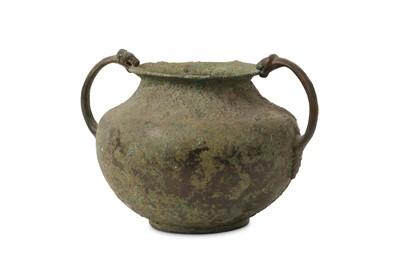 Lot 37-A 3RD CENTURY B.C. HELLENISTIC BRONZE VESSEL of...