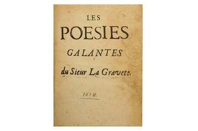 Lot 52-Poetry.- La Gravette (?)