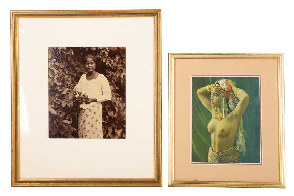 Lot 13-Two Framed 19th Century Photographic Portraits