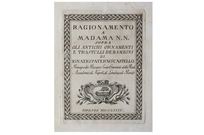 Lot 3-Alighieri (Petrus) & Nannucci (Vincenzo)