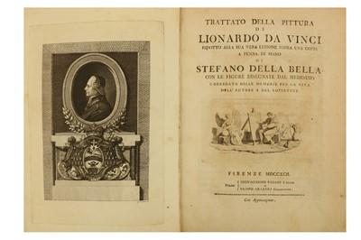 Lot 19-Da Vinci (Leonardo) & Della Bella (Stefano, ill.)