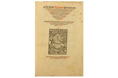 Lot 9-Boccaccio (Giovanni)