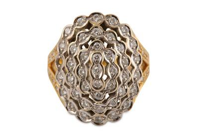 Lot 23-A diamond dress ring