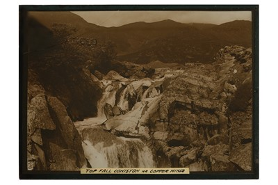 Lot 2-A Collection of Whole Plate Diapositives Documenting the Lake District