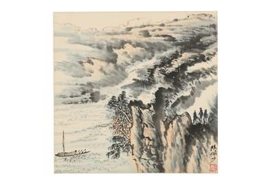 Lot 289 - LU YANSHAO (follower of, 1909 – 1993). LANDSCAPE.