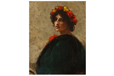 Lot 102-ALFRED PIERRE AGACHE (FRENCH 1843–1915)