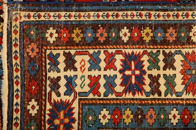 Lot 3-AN ANTIQUE KUBA-LESGHI RUG,  EAST CAUCASUS