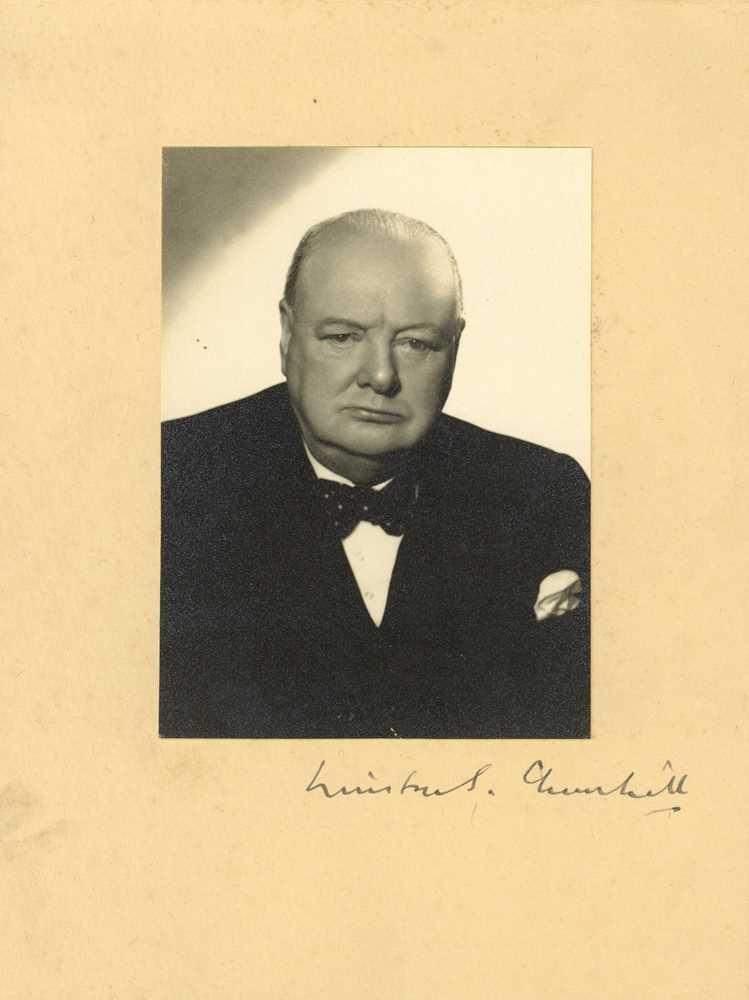 Lot 346 - Churchill (Winston)