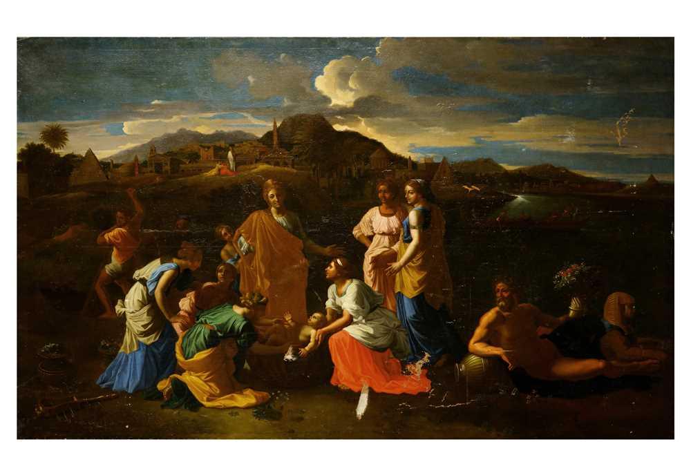 Lot 1-AFTER NICOLAS POUSSIN (LES ANDELYS 1594 - ROME 1665)