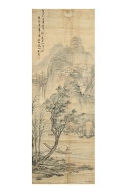 Lot 263 - SHEN ZHOU (follower of, 1427 – 1509). LANDSCAPE.