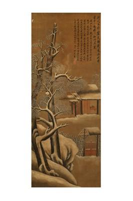 Lot 264 - SHEN ZHOU (follower of, 1427 – 1509). EXTERIOR SCENE.