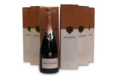 Lot 13-Bollinger Rose, Champagne