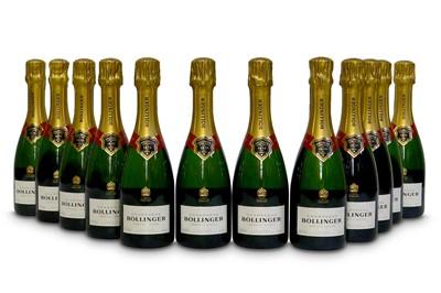 Lot 14-Bollinger Special Cuvee Brut, Champagne NV Half-Bottles