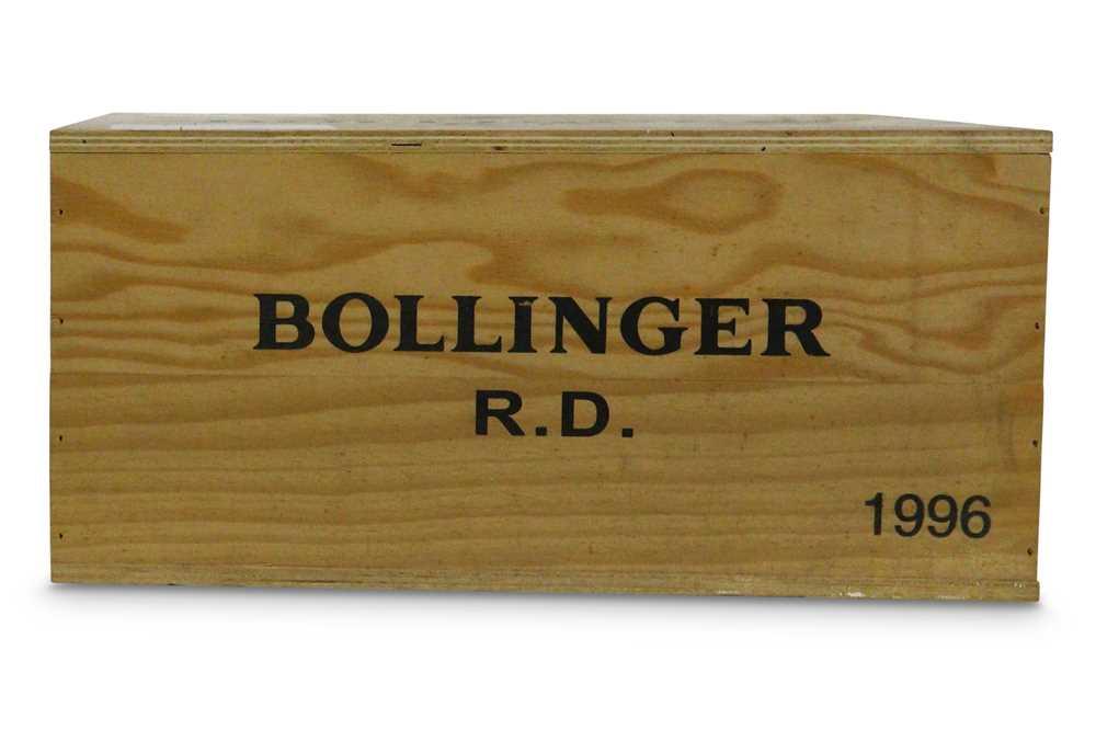 Lot 9-Bollinger R.D. Extra Brut, Champagne 1996