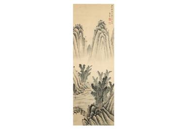Lot 270 - GONG XIAN (follower of, 1618 – 1689). LANDSCAPE.