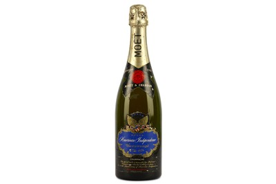 Lot 47-Moet et Chandon 1976 - American Bicentennial Bottle
