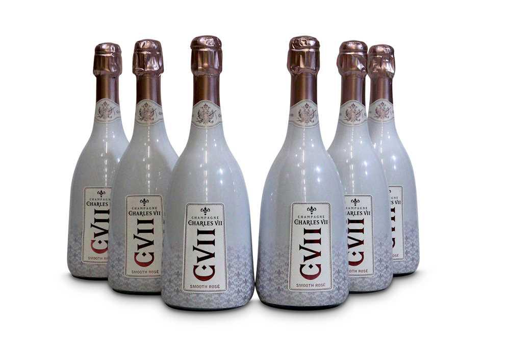 Lot 4-Canard-Duchene Charles VII Grande Cuvee Smooth Rose, Champagne