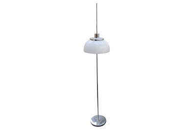 Lot 26-Harvey Guzzini, a circa 1970's Italian adjustable chrome standard lamp