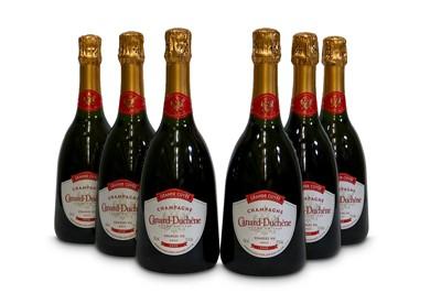 Lot 3-Canard-Duchene Charles VII Grande Cuvee de la Rose Brut, Champagne