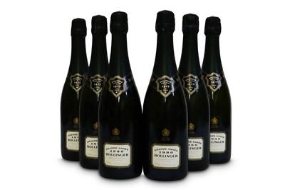 Lot 4-Bollinger La Grande Annee Brut, Champagne 1990