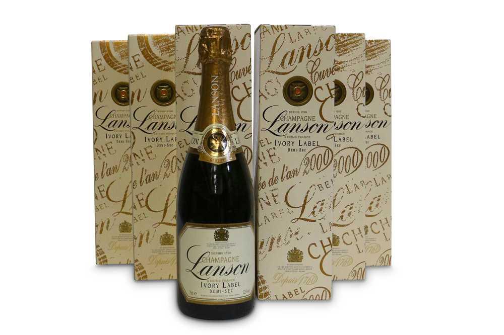 Lot 45-Lanson Ivory Label Demi-Sec, Champagne