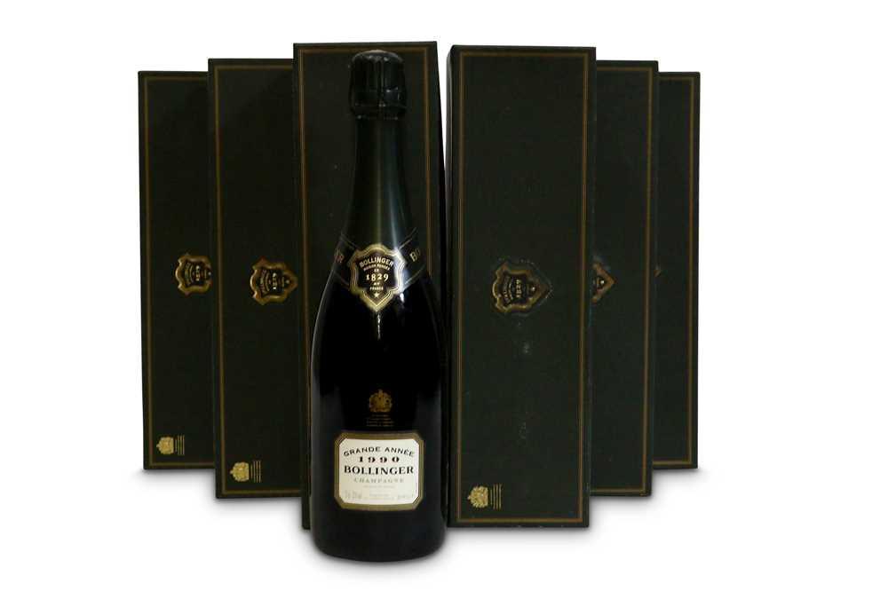 Lot 5-Bollinger La Grande Annee Brut, Champagne 1990