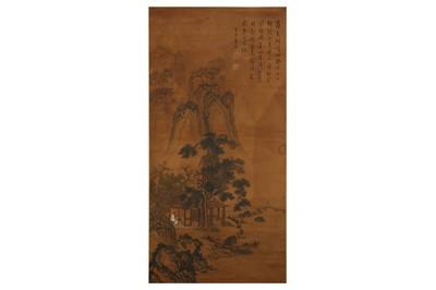 Lot 266 - TANG YIN (follower of, 1470 – 1524). LANDSCAPE.