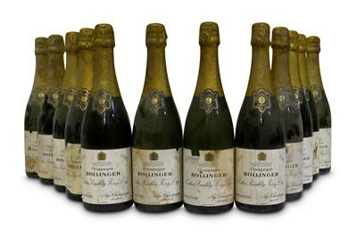 Lot 2-Aged bottles of Bollinger NV