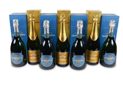 Lot 25-Mixed Canard Duchene Champagne