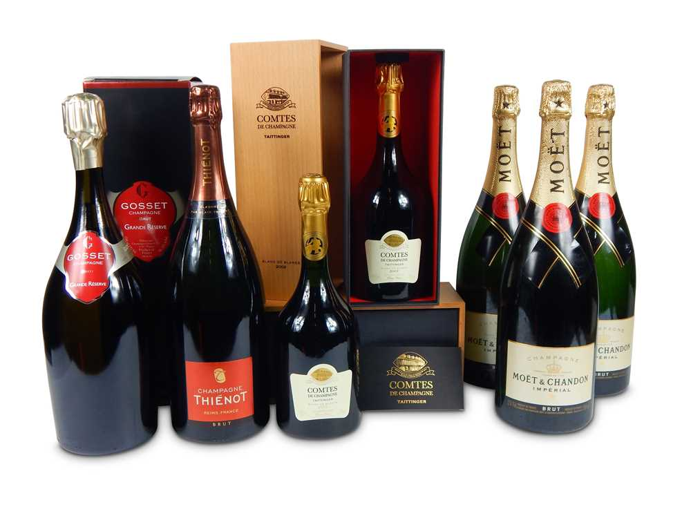 Lot 31-Mixed Champagnes