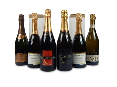 Lot 45-An assortment of new world Sparkling wines