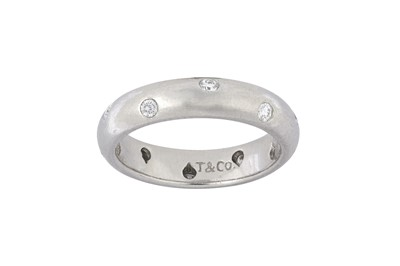 Lot 18 - A diamond-set ring, by Tiffany & Co.