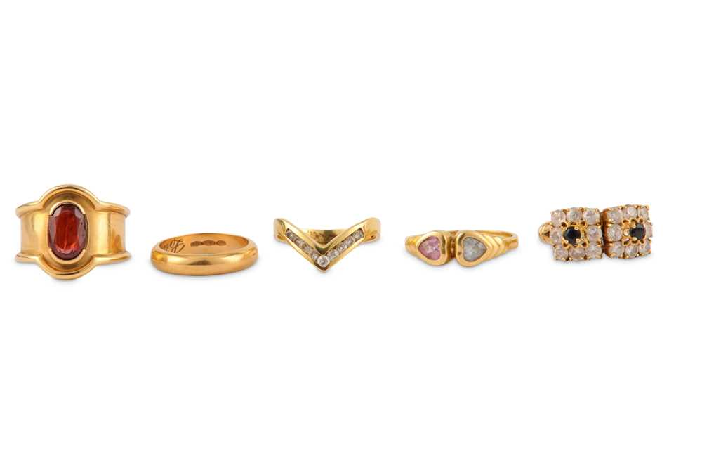 A collection of five rings