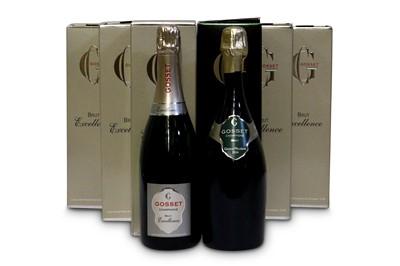 Lot 34-Assorted Gosset Champagne