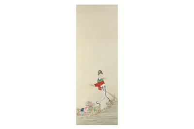 Lot 83 - ANONYMOUS. MAGU ON A RAFT.