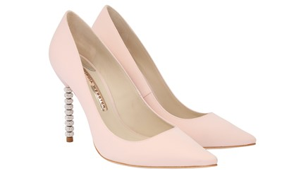 Lot 34-Sophia Webster Baby Pink Coco Crystal Pump - Size 40