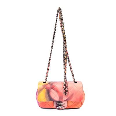Lot 42-Chanel Flower Power Multicolour Mini Flap Bag