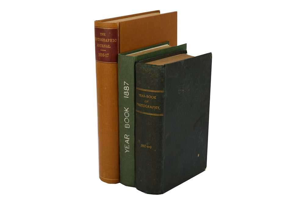 Lot 1-19th & Early 20th Century Photographic Literature