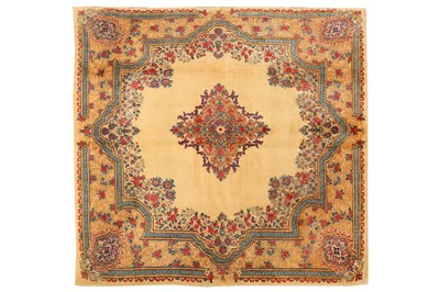 Lot 17-A FINE KIRMAN RUG, SOUTH PERSIA