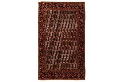 Lot 28-A FINE ANTIQUE BIJAR RUG, NORTH-WEST PERSIA