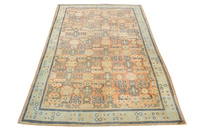 Lot 14-A FINE AGRA RUG, NORTH INDIA