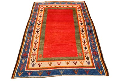 Lot 36-AN UNUSUAL GABBEH RUG, SOUTH-WEST PERSIA