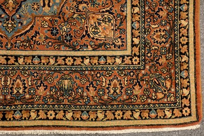 Lot 39-A VERY FINE ISFAHAN RUG, CENTRAL PERSIAN