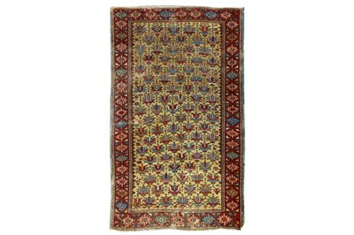 Lot 11-AN ANTIQUE DAGESTAN RUG, EAST CAUCASUS