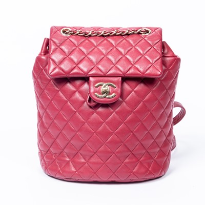 Lot 38-Chanel Pink Urban Spirit Small Backpack